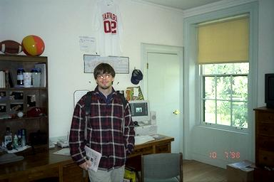 Will In His Dorm Room At Harvard, Fall 98 Part 42
